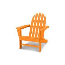 Tangerine Classic Adirondack Chair