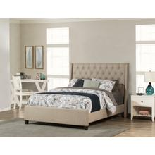 View Product - Churchill King Bed - Natural Herringbone