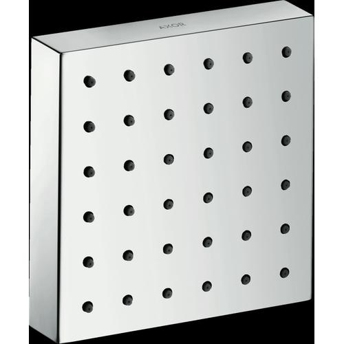 "Chrome Shower Module 5"" x 5"" Square"