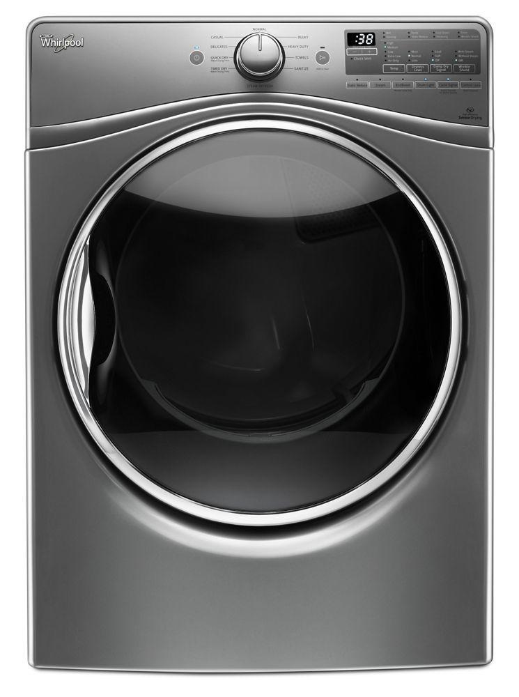 Whirlpool7.4 Cu.Ft Front Load Gas Dryer With Advanced Moisture Sensing, Ecoboost