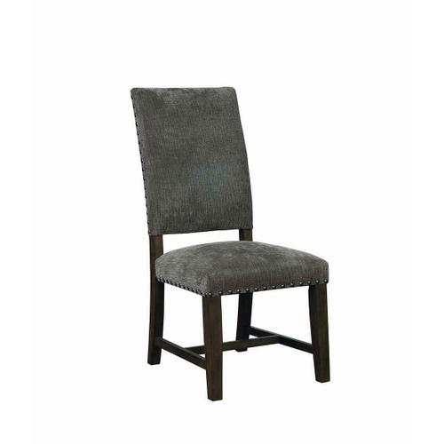 Gallery - Contemporary Grey Upholstered Parson Chair