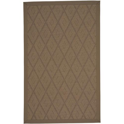 Savanna-Umber Canvas Cocoa Machine Woven Rugs