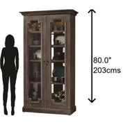 Howard Miller Chasman Curio Cabinet 670010 Product Image