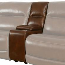 See Details - COLOSSUS - NAPOLI BROWN Entertainment Console