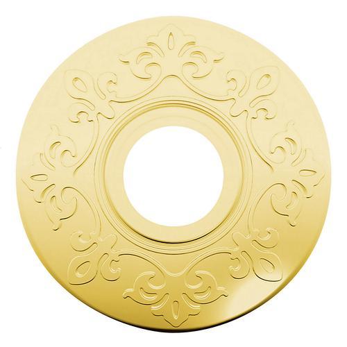 Baldwin - Lifetime Polished Brass R012 Estate Rose