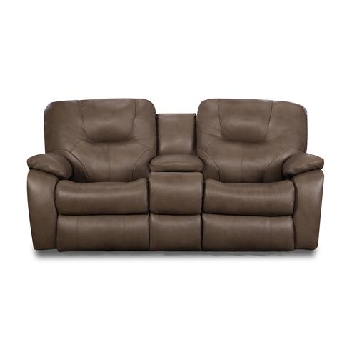 Power Headrest Sofa with Drop Down Table