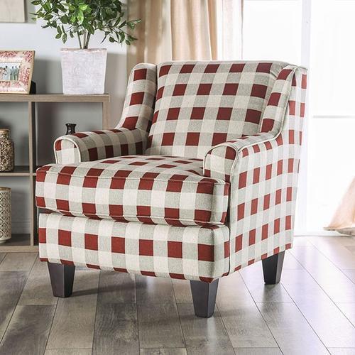 Furniture of America - Checkered Chair Fillmore