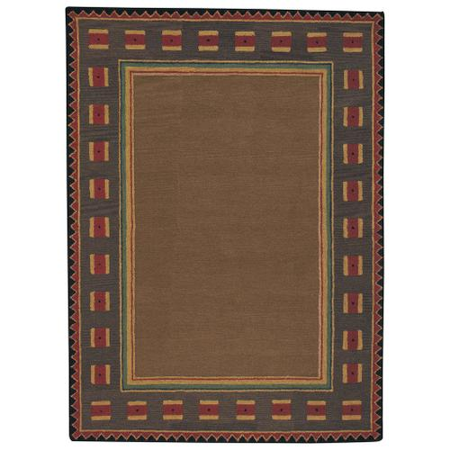 Riverwood Light Brown Hand Tufted Rugs