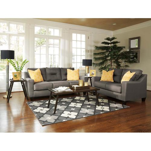 Forsan Nuvella® Sofa & Loveseat Gray