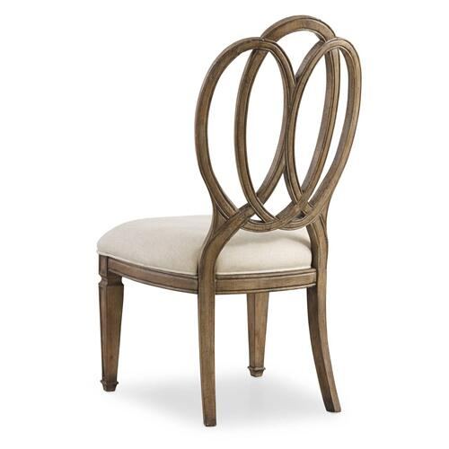 Hooker Furniture - Solana Wood Back Side Chair - 2 per carton/price ea