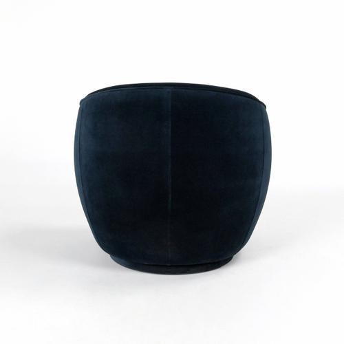 Classic Home - Harper Swivel Accent Chair Midnight Blue
