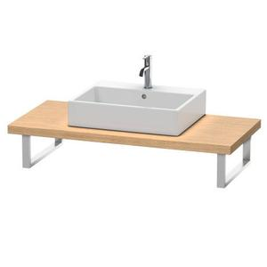 Console For Above-counter Basin And Vanity Basin, European Oak (decor)