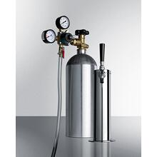 Commercially Approved Tap System With Co2 Tank To Serve Beer From Most Kegerators