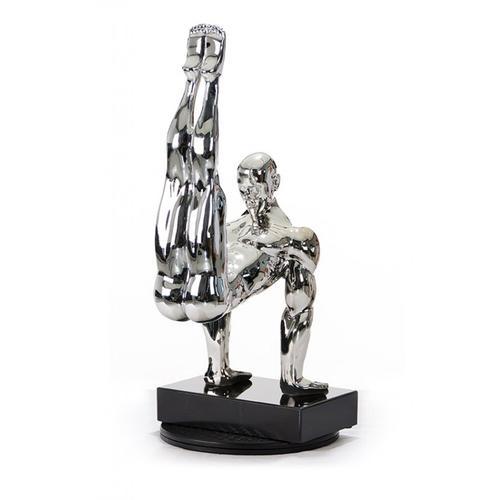 Gallery - Modrest SZ0173 - Modern Silver Gymnast-B Sculpture