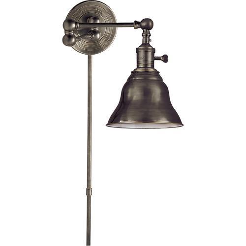 E. F. Chapman Boston 15 inch 60.00 watt Bronze Swing-Arm Wall Light