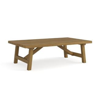 Martin Teak Tables Rectangular Cocktail Table