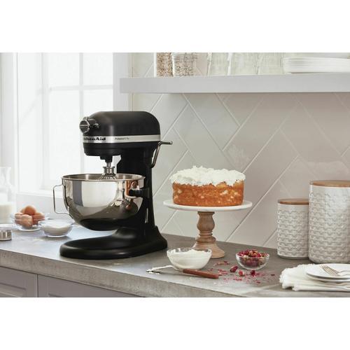 KitchenAid - Professional 5™ Plus Series 5 Quart Bowl-Lift Stand Mixer - Black Matte