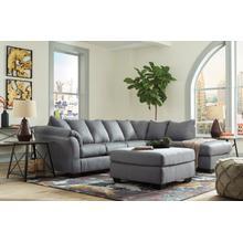 Darcy LAF Sofa Steel
