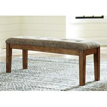 Flaybern Large Uph Dining Room Bench Brown