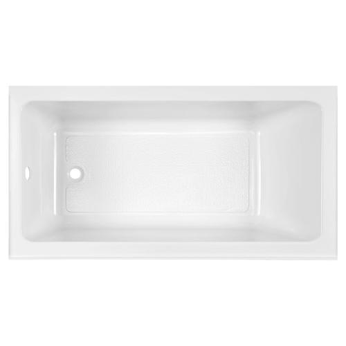 Studio 60x32-inch Bathtub - Above Floor Rough with Built-In Apron - Left Drain  American Standard - Arctic White