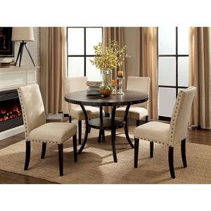 Cm3323rt In By Furniture Of America In Oakdale Ca Kaitlin Round Dining Table