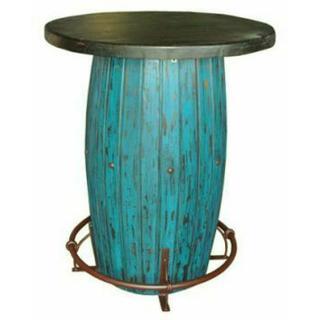 See Details - Turquoise Scrape Barrel Bar