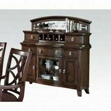 ACME Keenan Server - 60259 KIT - Dark Walnut