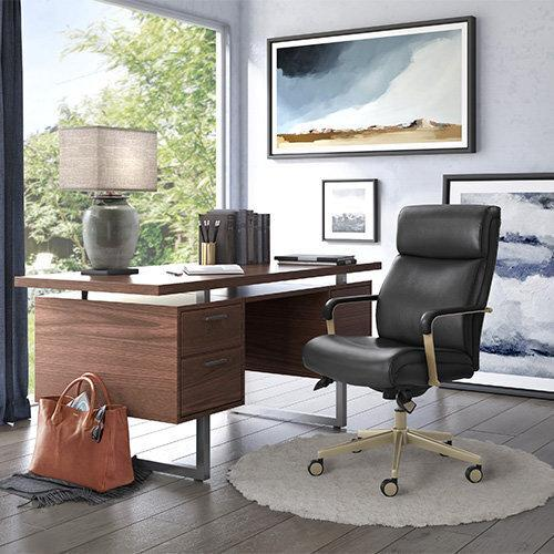 Gallery - Melrose Executive Office Chair, Black