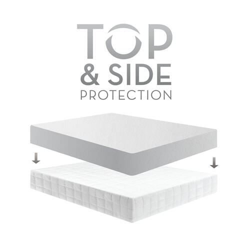 Five 5ided Smooth Mattress Protector Split Cal King