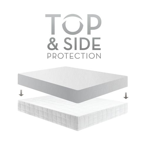 Five 5ided® Smooth Mattress Protector Split King