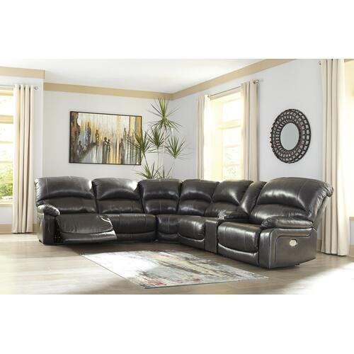 Hallstrung 5-piece Power Reclining Sectional
