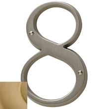 View Product - Vintage Brass House Number - 8