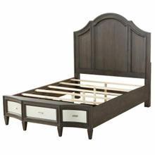 ACME Peregrine Eastern King Bed - 27987EK - Walnut