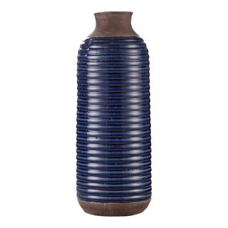 Alexandria Vase Tall Blue