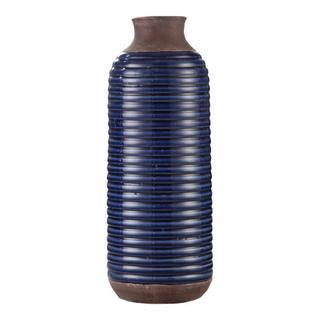 See Details - Alexandria Vase Tall Blue