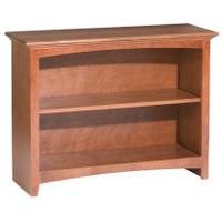 """GAC 29""""H x 36""""W McKenzie Alder Bookcase Product Image"""