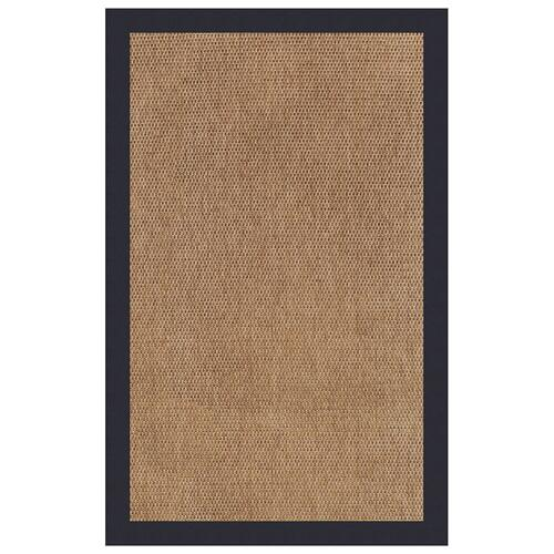 "Capel Rugs - Islamorada-Basketweave Canvas Navy - Rectangle - 24"" x 36"""
