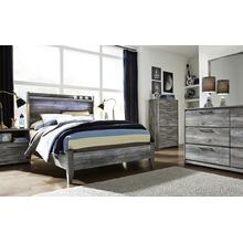 Baystorm - Gray 2 Piece Bed (Full)