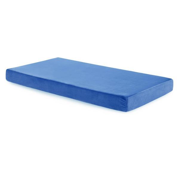 Brighton Bed Gel Memory Foam Mattress Full Blue