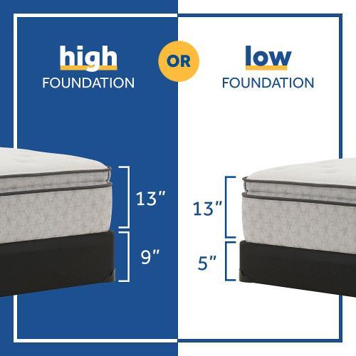 Sealy - Hayward - Euro Pillow Top - Soft - Split King
