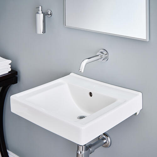 American Standard - Decorum Wall-Hung Bathroom Sink with Everclean - White