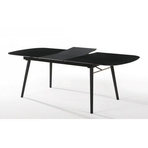 VIG Furniture - Modrest Addax - Modern Black Extendable Dining Table