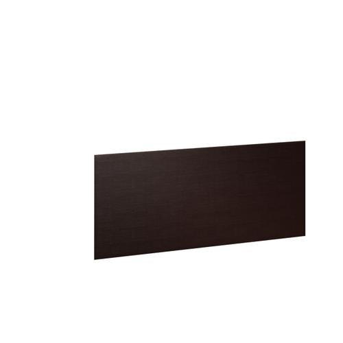 Desk Return Back Panel 6009 in Espresso