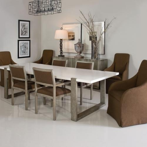 Hadleigh Dining Table in Rustic Gray