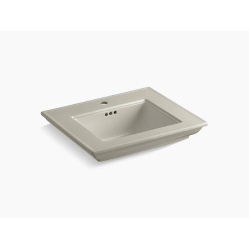 """Sandbar 24"""" Pedestal/console Table Bathroom Sink Basin With Single Faucet Hole"""
