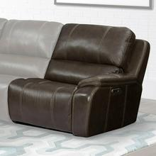View Product - POTTER - WALNUT Power Right Arm Facing Recliner