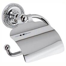Polished Chrome Hooded Toilet Tissue Holder
