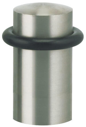 Modern Floor Door Stop in (US32D Satin Stainless Steel) Product Image