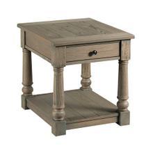 Outland Rectangular Drawer End Table