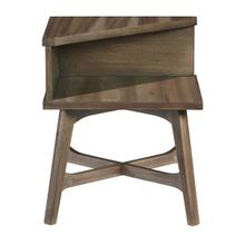 Chairside Table - Caramel Finish